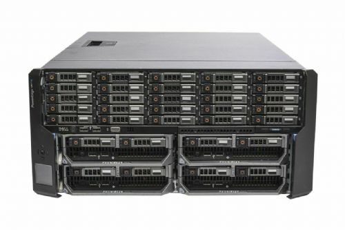 Dell PowerEdge VRTX Rack Chassis 25x 1TB +4x M620P 2x E5-2630L 16GB Ram 2x300GB